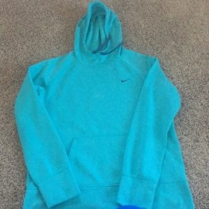 Turquoise Nike Hoodie Size L